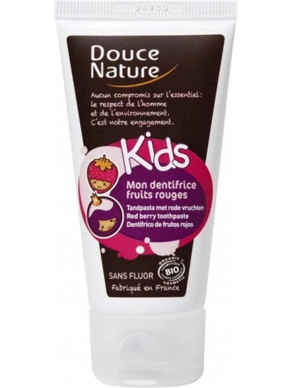 Douce Nature laste hambapasta marjamaitseline 50ml fluoorivaba
