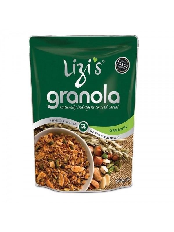 Lizi's granola agaavisiirupiga 400g