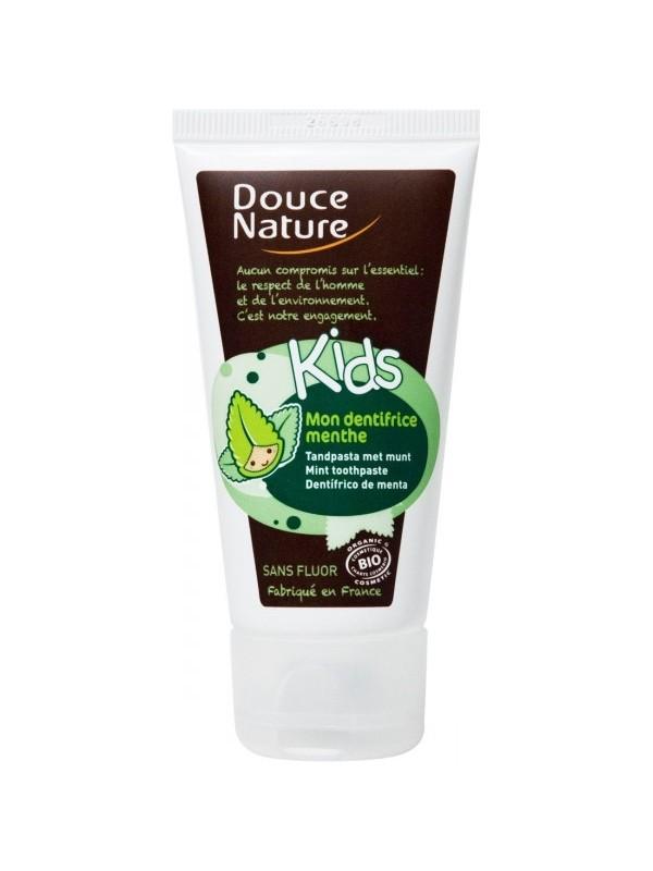 Douce Nature laste hambapasta mündimaitseline 50ml (fluoorivaba)