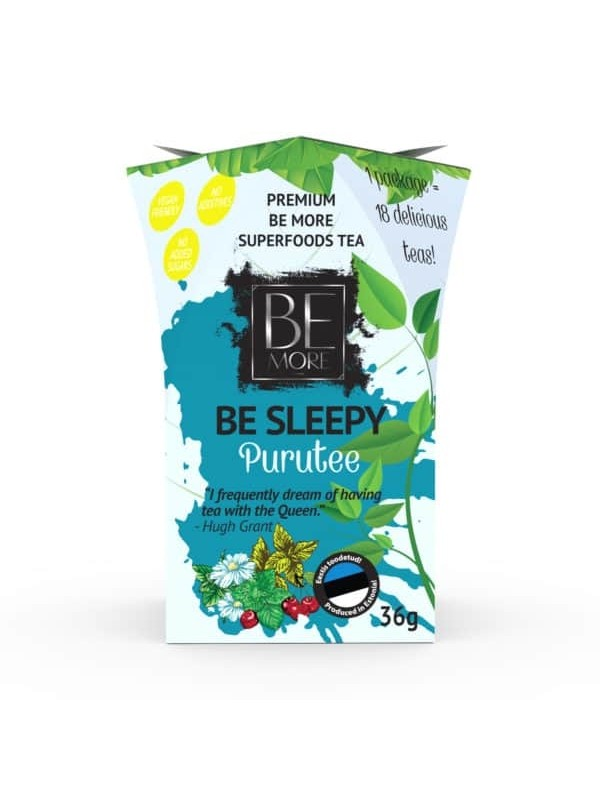 Be Sleepy purutee 36g