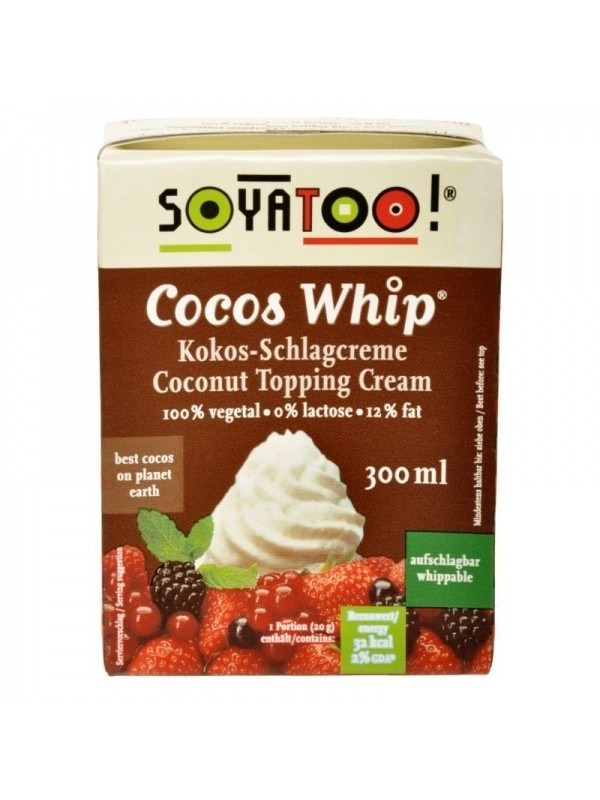 Soyatoo kookoskoor vahustatav 300 ml
