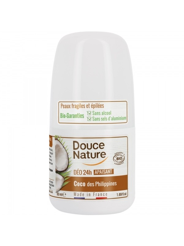 Douce Nature rulldeodorant Filipiinide kookosega 50 ml