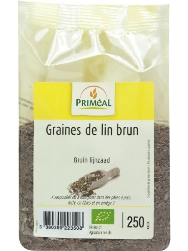 Prim linaseemned pruunid 250g