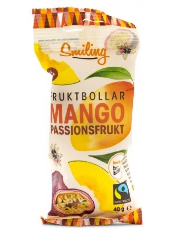 Smiling Puuviljapallid- mango ja granadill- 40g