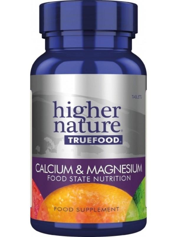 **True Food kaltsium ja magneesium 120 tab