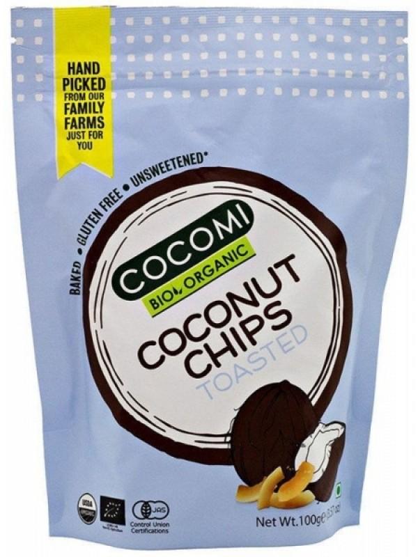 Cocomi mahedad röstitud kookoskrõpsud 100g