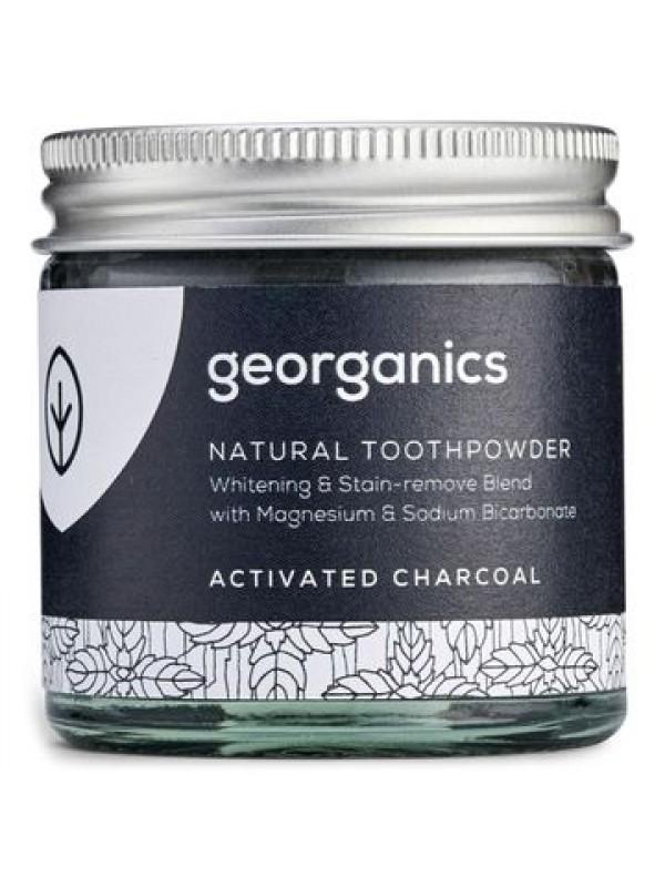 Georganics hambapesu pulber aktiivsöega 60ml