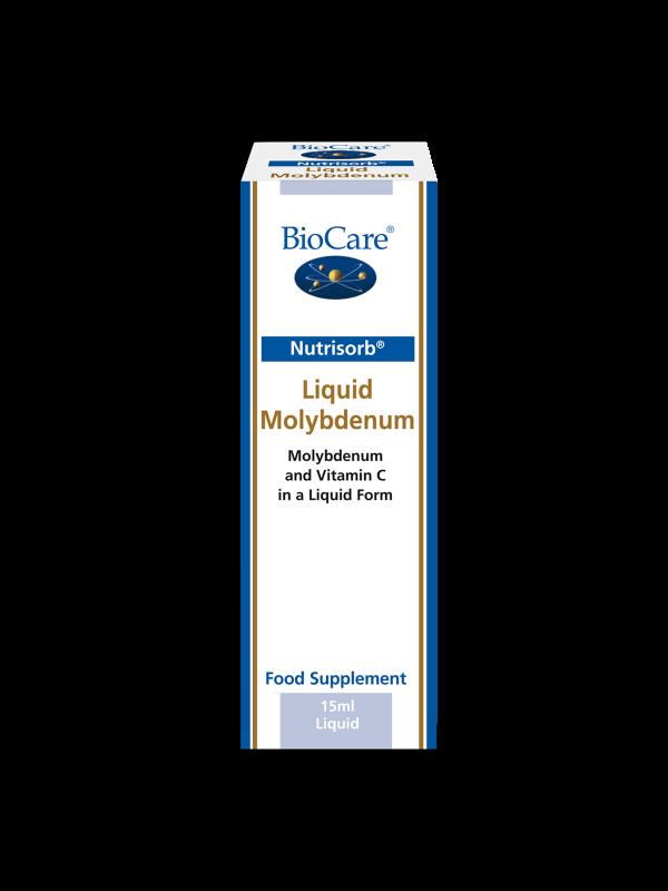 Nutrisorb vedel molübdeen 15 ml