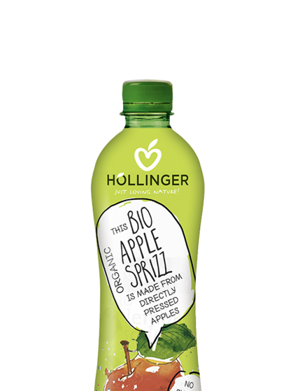 Höllinger suhkruvaba õunalimonaad 0,5 L