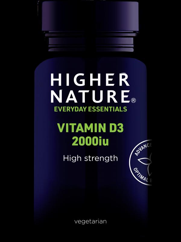 *Vitamiin D3 2000iu 120 kaps