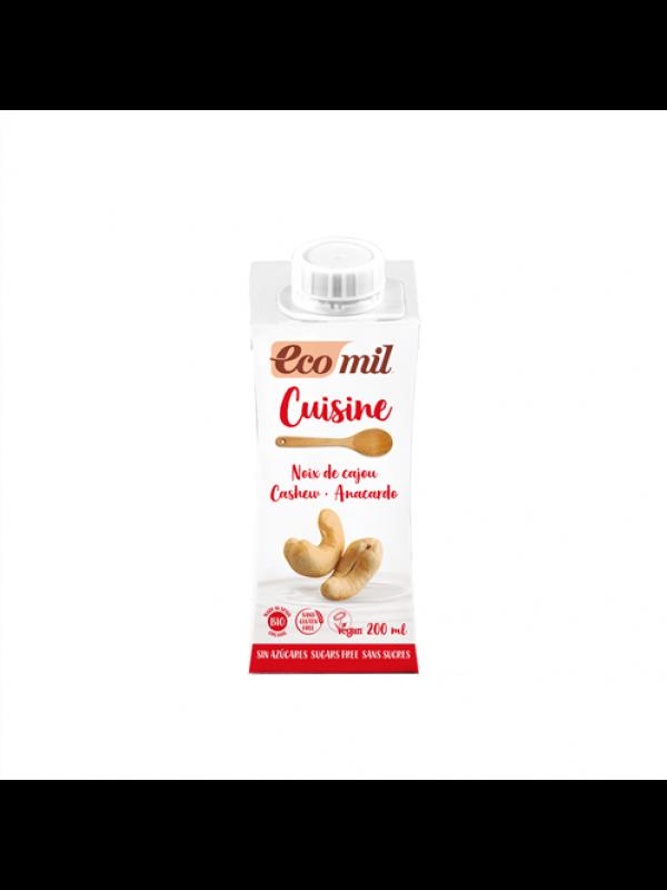 Ecomil indiapähklikoor suhkruta 200 ml
