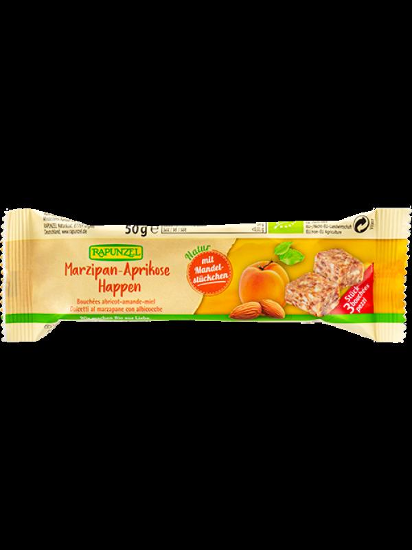 **Rapunzel martsipani-aprikoosiampsud  50g