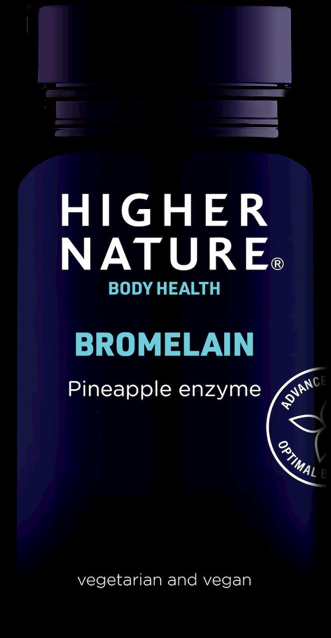 Bromelaiin Higher Nature