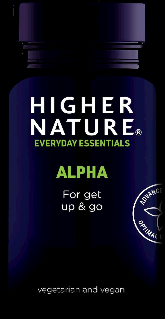Higher Nature Alpha toidulisand