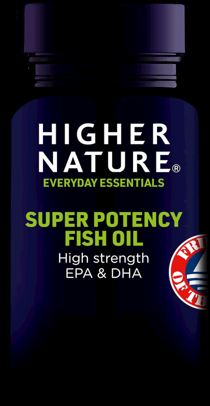 Higher Nature Super Potency Fish Oil