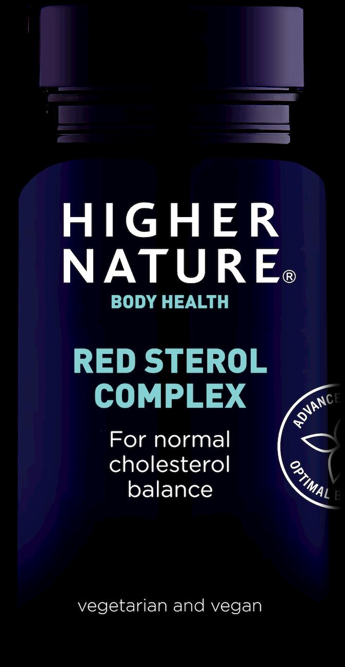 Higher Nature punaste steroolide kompleks