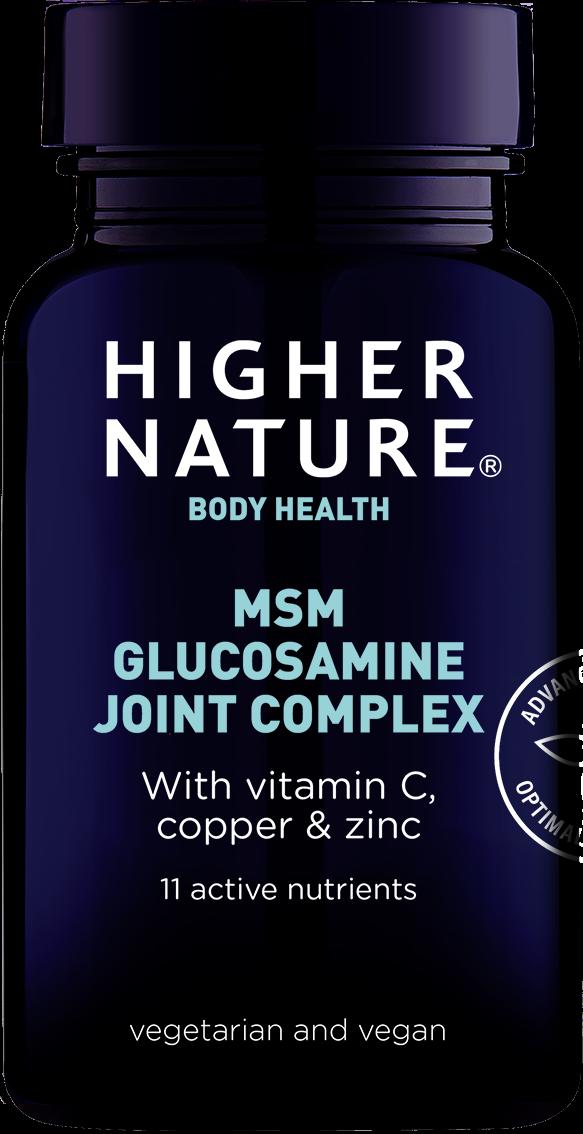 MSM ja glükoosamiiniga liigeste kompleks