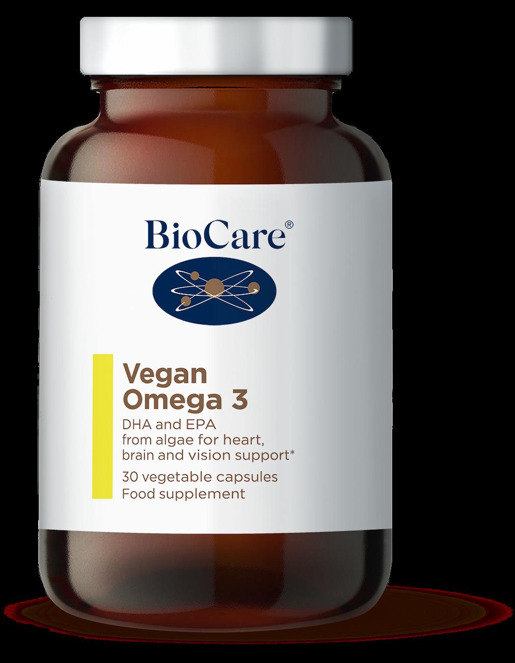 Vegan oomega 3 vetikatest veganitele ja taimetoitlastele  BioCare