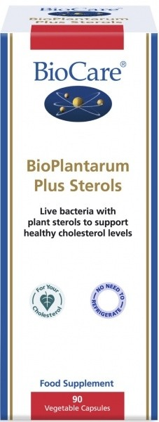 **BioPlantarum Plus steroolid 90 kaps