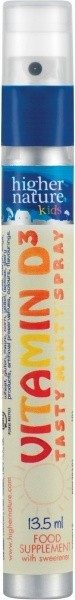 D3 vitamiin pihustiga laste 13,5 ml