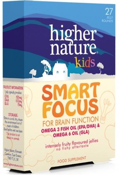 Smart Focus laste kalaõli 27 tk