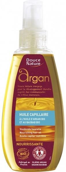 Douce Nature juukseõli argaania ja baobabiga 160 ml