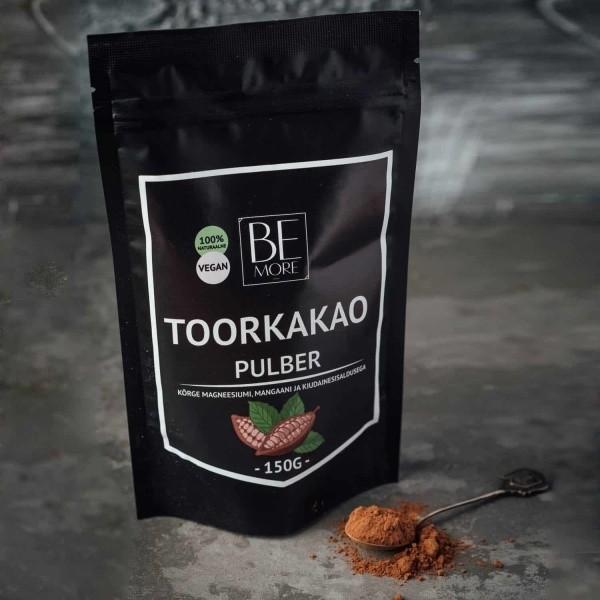 **Be More toorkakaopulber 150g