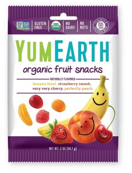 YumEarth mahe puuvilja kummikommid 50 g