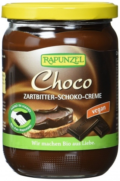 Rapunzel mõrušokolaadikreem Choco, 250g
