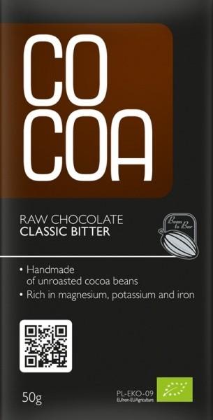 Cocoa klassikaline mõrutooršokolaad 50g