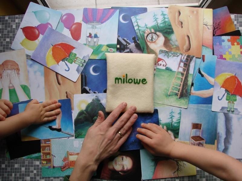 Milowe kaardid tööks lastega