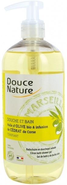 Douce Nature dušigeel oliiviõli ja Korsika tsitruse 500 ml