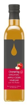 Clear õunasiidriäädikas setitamata 500ml