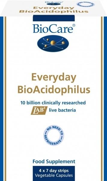 **Everyday BioAcidophilus (10 miljardit) 4 x 7 kaps