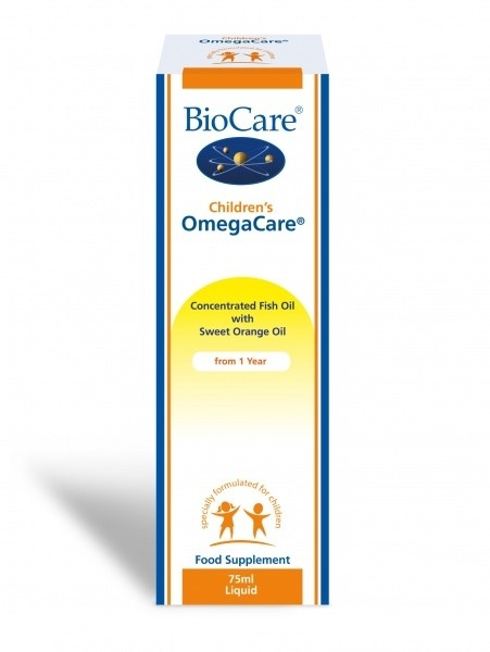 OmegaCare laste kalaõli 75ml