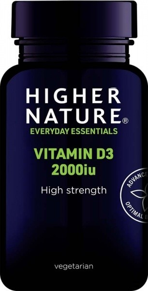 Vitamiin D3 2000iu 60 kaps