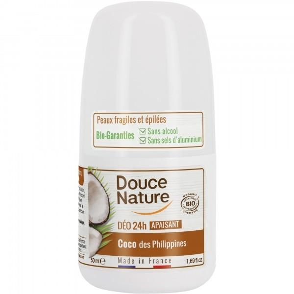 Douce Nature rulldeodorant Filipiinide kookosega 50 ml