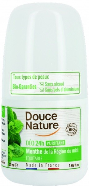 Douce Nature rulldeodorant normaalsele nahale 50ml