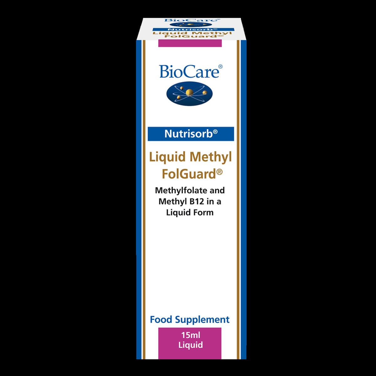 Nutrisorb vedel metüül FolGuard 15 ml