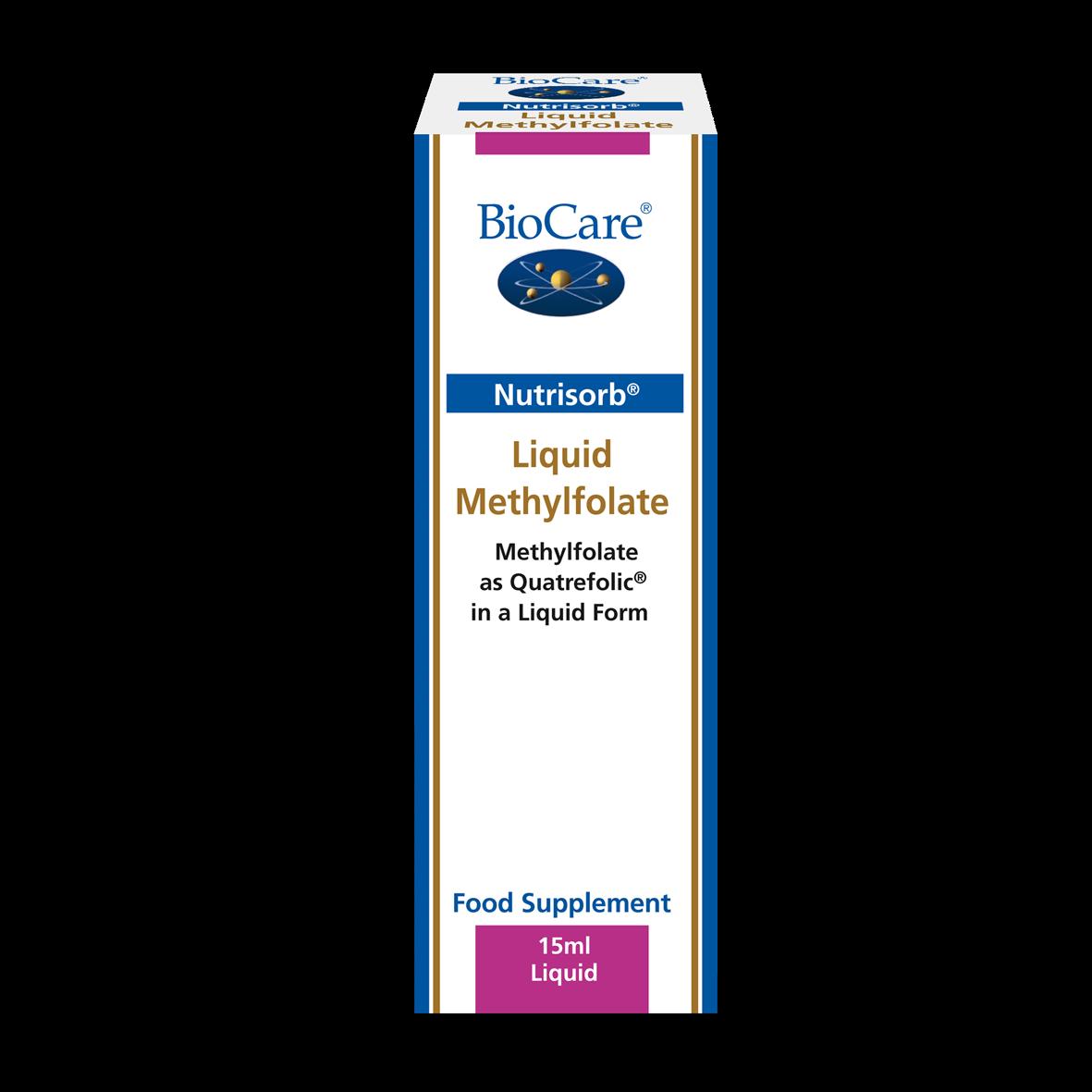 Nutrisorb vedel metüülfolaat 15 ml