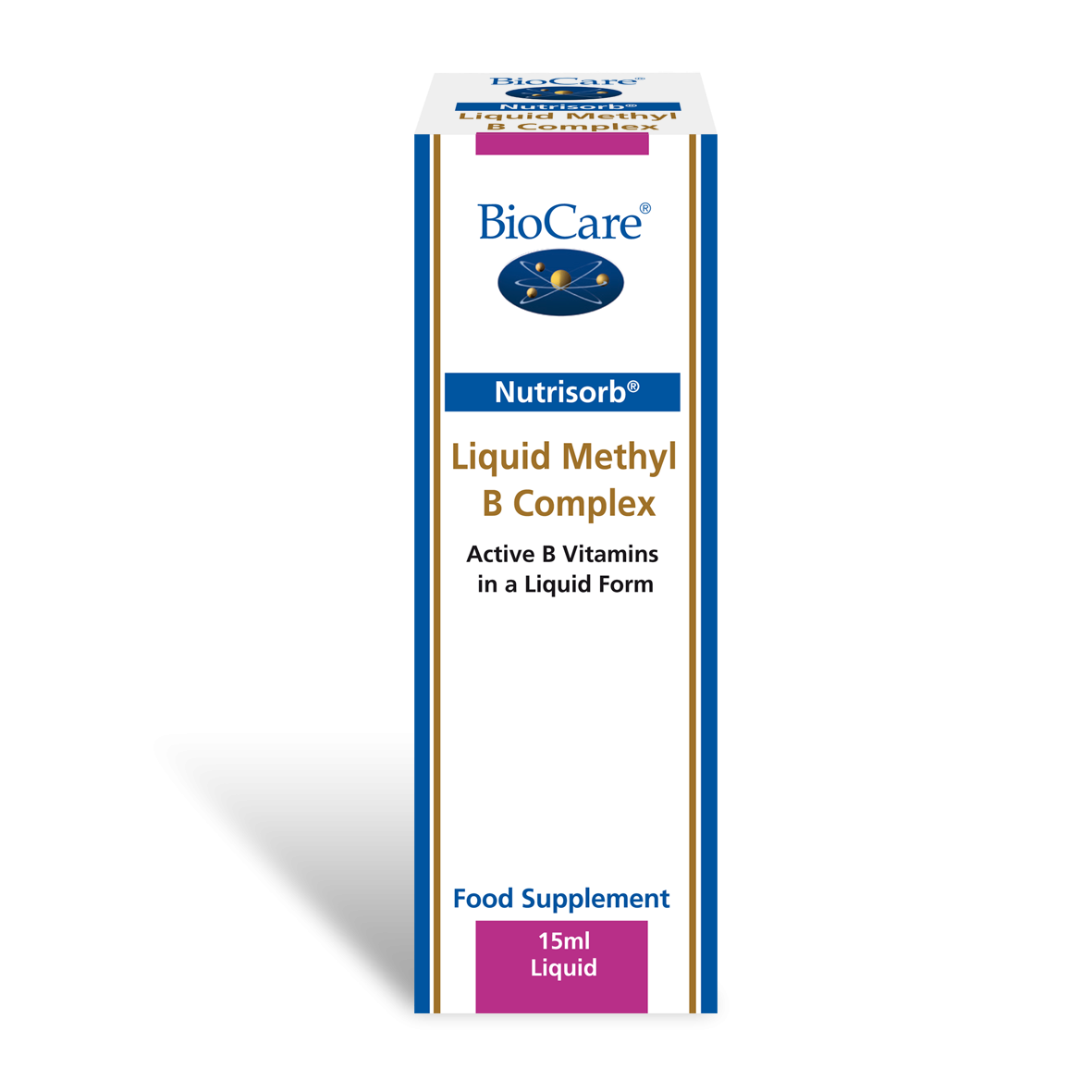 Nutrisorb vedel metüül B kompleks 15 ml