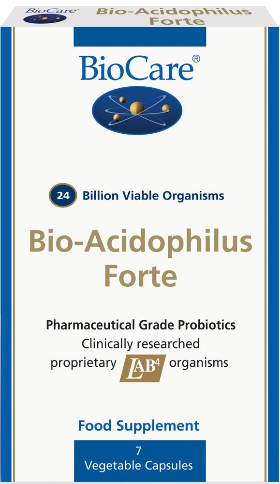 BioAcidophilus Forte (24 miljardit) 7 kaps
