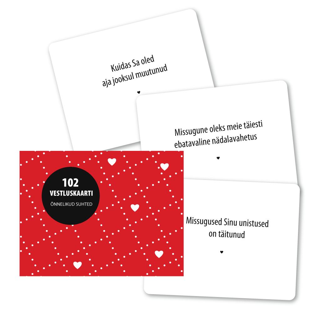 102 vestluskaarti- õnnelikud suhted
