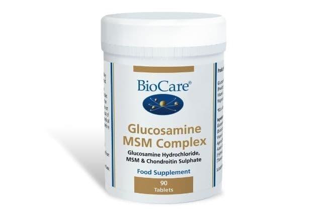 glükoosamiini kompleks MSMiga
