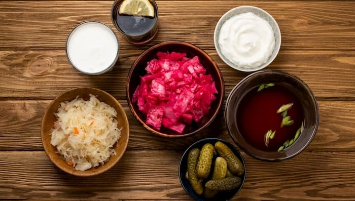Seedimise toetuseks - kimchi, kombucha